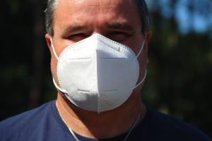 Masque de protection KN95 (x10) équivalent FFP2