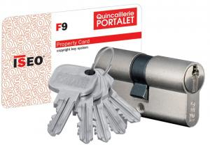 F9 - Cylindre double entrée débrayable