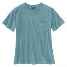 Tee-shirt femme POCKET - Bleu