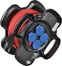 Enrouleur COMPACT X-GUM - 4 prises à clapets